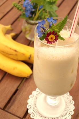 バナナジュース ¥600